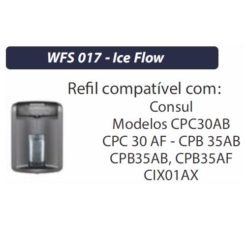 FILTRO REFIL PARA PURIFICADOR CONSUL - ICE FLOW WFS017