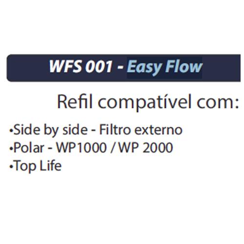 FILTRO REFIL PARA PURIFICADOR POLAR - EASYFLOW WFS001
