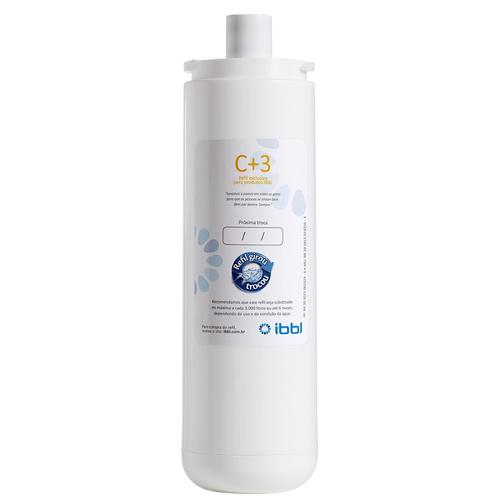 REFIL IBBL C+3 para Purificador de Água