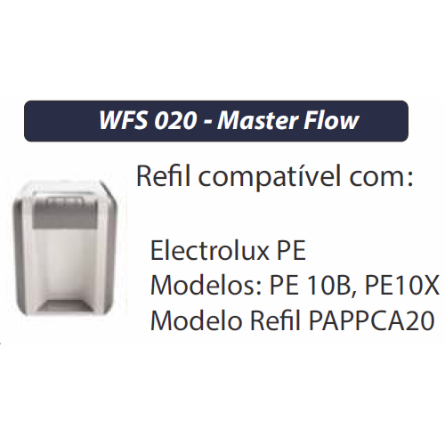 REFIL PARA PURIFICADOR ELETROLUX -MASTERFLOW WFS020