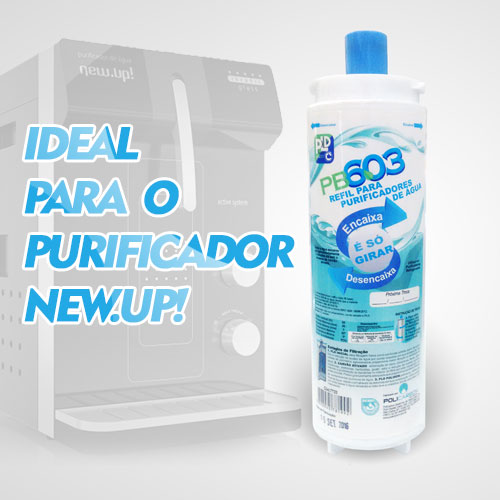REFIL PARA PURIFICADORES NEWUP MACFLOW WFS024